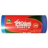 PROdom Пакеты для мусора 35л 30шт