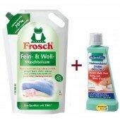 Набор Frosch Гель для стирки шерсти+Dr.BECKMANN Пятновыводитель на выбор
